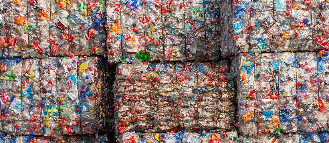 Packaged recyclables