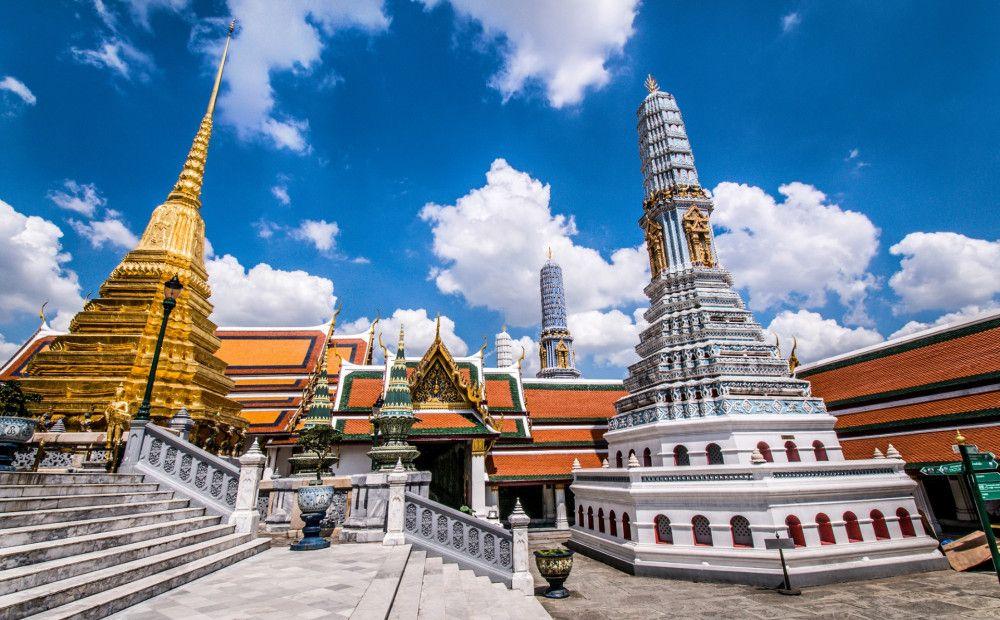 Beautiful Asian temple